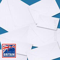 Quality White Invite Envelopes - C7 C6 C5 DL 130 & 155 Square 5 x 7 inches