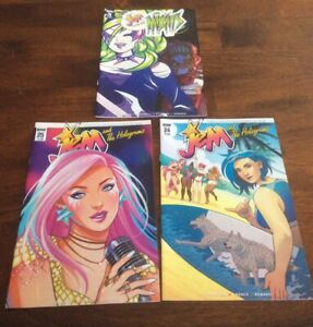 IDW Publishing Jem And The Holograms #24 & 25 Jem And The Misfits #3