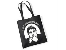 Louis Theroux Novelty 'I Gotta Get Theroux Today' Slogan Gift Black Tote Bag