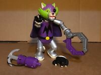 "Mechanikat Fisher Price DC Comics Pet Talking 6.5"" Action Figure Mattel 2004"