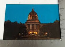 Vintage Postcard Capitol Building Harrisburg Pennsylvania Miss Penn Commonwealth