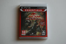 DEAD ISLAND GAME OF THE YEAR EDITION pour PS3