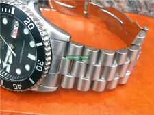 Solid Stainless Steel President Type Replacement Oyster Bracelet For SKX031