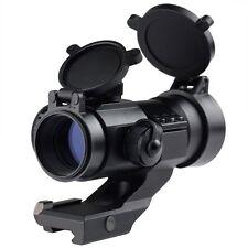 LIVABIT Tactical Mil-Dot Illuminated Holographic Rifle Scope Optics Sight