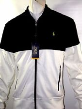 Polo Ralph Lauren pieced interlock track jacket size small 100%cotton NEWonSALE