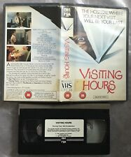 Visiting Hours UK CBS/Fox Pre Cert VHS Video Nasty