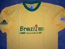 Ancien T.shirt Adidas Brésil Coupe Du Monde 1998 France 98 Taille XL Maillot