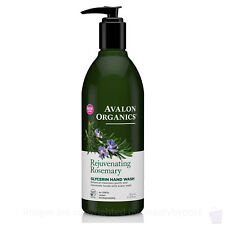 Avalon Organics NEW rejuvenating Rosemary Glycerin HAND SOAP 355ml
