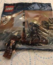 Lego Captain Jack Sparrow Minifigure