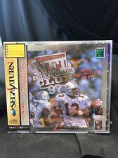 Brand New Sega Saturn NFL Quarterback Club 97 Japan Sealed SFC