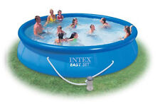 New Intex Easy Set 15-Foot by 36-Inch Round Inflatable Outdoor Swimming Pool