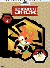 Samurai Jack Season 4 DVD - Freepost - New/Sealed
