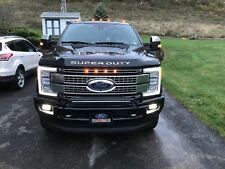 2017- 19  Ford Super Duty -Platinum Only-Raptor Style Grill light