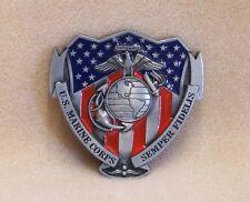 United States Marine Corps Belt Buckle Eagle, Globe and Anchor, Semper Fidelis