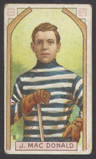 1911-12 C55 IMPERIAL TOBACCO HOCKEY #8 JACK MACDONALD STANLEY CUP CHAMPION