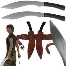 Resident Evil Double Kukri Sword/Machete Set with Sheath - Replica