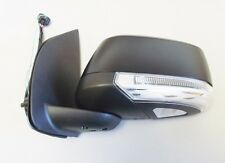 New Door Mirror Black Electric With Indicator L/H For Nissan Navara D40 - 2.5DCi