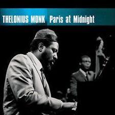 Thelonious Monk : Paris at Midnight Jazz 1 Disc CD