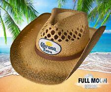 NEW Corona Extra Straw Cowboy Beer Men's Cap Hat