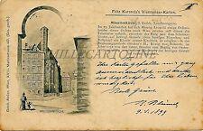 AUSTRIA - Wien - Fritz Kuranda's Viennensia Karten - Minoritenkirche 1899