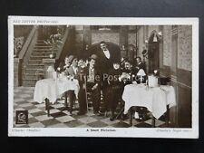 Charlie Chaplin CHARLIE'S A SMALL FLIRTATION Red Letter Photocard c1915