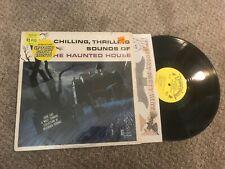 Haunted House Spooky Halloween Horror w/ sticker Record lp original vinyl album