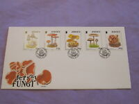 1994 Jersey / Channel Islands First Day Cover / FDC - Jersey Fungi