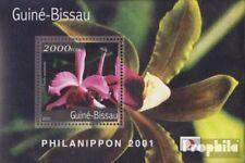 Guinee-Bissau  postfris MNH 2001 Orchideeën