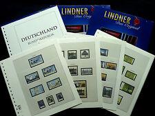 LINDNER T120b VORDRUCKBLÄTTER - BUND 2000-2014 DEUTSCHLAND BUNDESREPUBLIK NEUW.