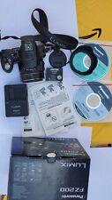 Panasonic LUMIX DMC-FZ200 12.1MP F2.8 24X Optical Zoom Digital Camera - Black