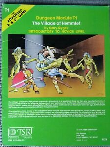 Advanced dungeons and dragons module T1 The village of Hommlet