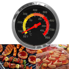 Stainless Steel Barbecue BBQ Smoker Grill Thermometer Temperature Gauge 10-400℃
