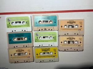 8 Teddy Ruxpin cassettes stories Vintage 1985 Worlds of Wonder tapes bear