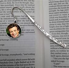 Simon Baker Silver  Tone Metal Bookmark