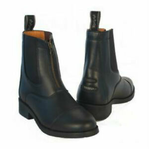 Toggi Equestrian Ascot Zip Front closure Ankle Boot Paddock Rubber Sole