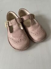 Girls Clarks Air Spring Brogue Shoes Size 6.5G