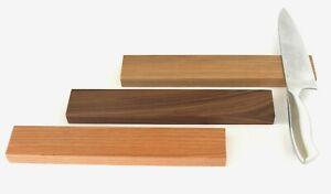 Messerleiste magnetisch aus Holz, Magnetleiste für Küchenmesser, starke Magnete