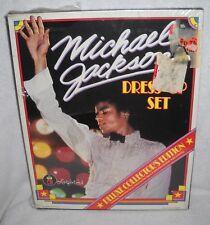 #9593 NIB Michael Jackson Dress Up Colorforms Deluxe Collectors Edition Set