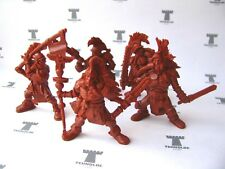 Dogs of War Postapocalyptyc 54 mm - 5 Figures Soft Old Tehnolog Toy Soldiers