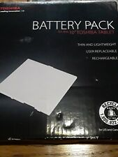 "TOSHIBA Lithium Ion Battery Pack for 10"" TOSHIBA TABLET  Open Box"
