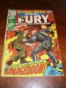 Sgt Fury Annual 7 Nov 1971 Bronze age marvel comic