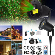 Christmas Star Laser Projector Shower Fairy Light LED Outdoor Landscape Lamp