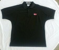 WearGuard Men's MEDR Peterbilt Trucking Company Black  Polo Shirt, Pre Owned