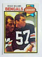 Reggie Williams #328 Topps 1979 Football Card (Cincinnati Bengals) VG