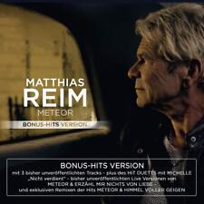 MATTHIAS REIM - METEOR-BONUS-HITS VERSION   CD NEUF