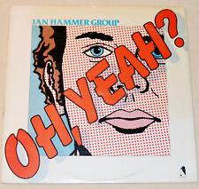 "Jan Hammer Group 1976 ""Oh Yeah"" Fusion Jazz VG++ Vinyl Mahavishnu Orchestra"