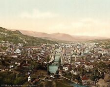 New 8x10 Photo - Sarajevo viewed from north Bosnia Austria-Hungary 1890-1900