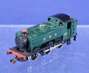 Graham Farish N Scale Non-Running Great Western 0-6-0 Locomotive for Repair 9405