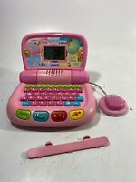 Vtech Tote 'n Go Laptop Pink W Mouse Kids Educational Computer Learning ToyGame