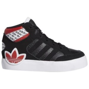 Adidas Originals Hard Court I (Toddler Size 4C) High Top Athletic Sneakers Black